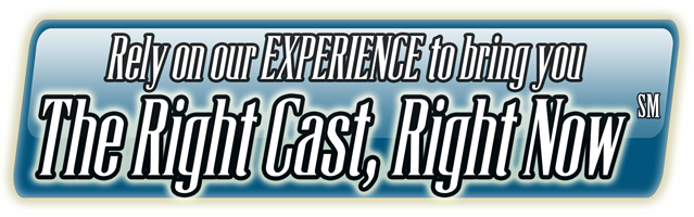 The Right Cast, Right Now Title Badge