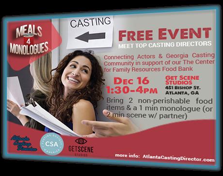 Meals 4 Monologues 2017 Atlanta Basic Info